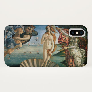 Capa Para iPhone X Nascimento de Botticelli de Venus
