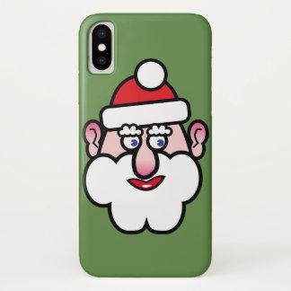 Capa Para iPhone X Natal Papai Noel 1,0