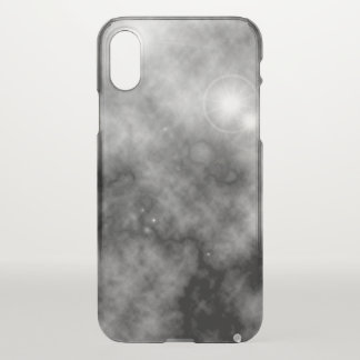 Capa Para iPhone X Nebulosa e Supernova cinzentos do espaço