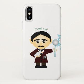 Capa Para iPhone X Nikola Tesla