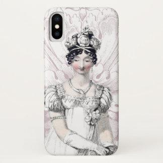 Capa Para iPhone X Noiva Jane Austen da regência