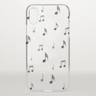 Capa Para iPhone X Notas musicais
