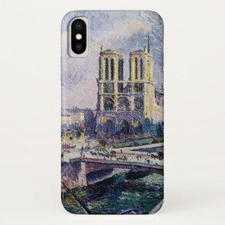 Capa Para iPhone X Notre Dame