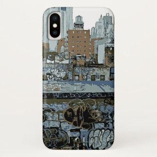 Capa Para iPhone X Nova Iorque Grafiti