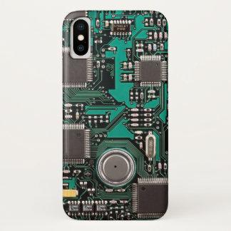 Capa Para iPhone X O conselho de circuito