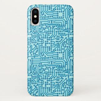 Capa Para iPhone X O conselho de circuito eletrônico