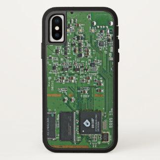 Capa Para iPhone X O conselho de circuito engraçado