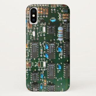 Capa Para iPhone X O conselho de circuito impresso do computador