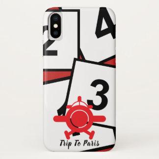 Capa Para iPhone X O conselho w/Icon de Pina