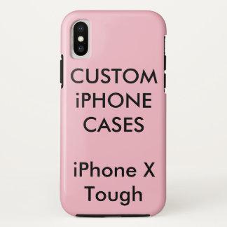 Capa Para iPhone X O costume personalizou a caixa dura resistente do