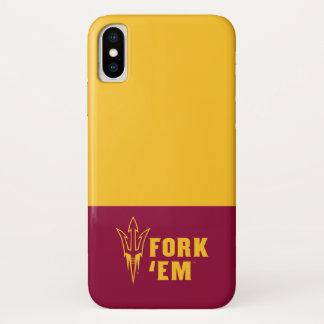 Capa Para iPhone X O estado da arizona bifurca-se eles