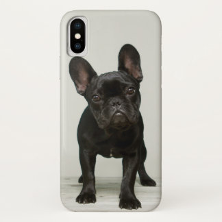 Capa Para iPhone X O filhote de cachorro o mais bonito do buldogue