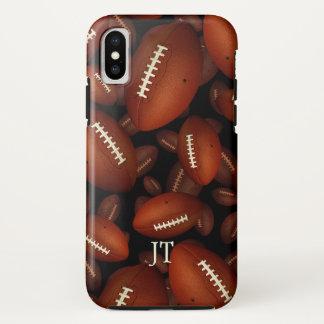 Capa Para iPhone X o futebol dos homens personalizados