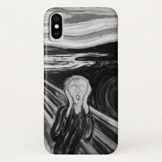 Capa Para iPhone X O gritar por Edvard Munch