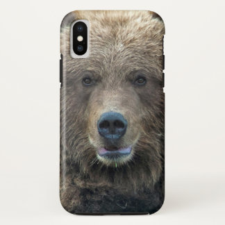 Capa Para iPhone X O Griz - caso do Alasca do iphoneX do urso de