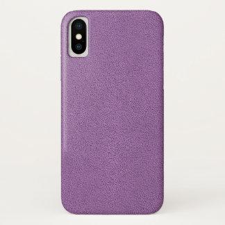 Capa Para iPhone X O olhar da camurça confortavelmente francesa da