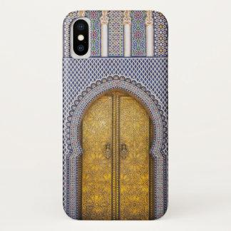 Capa Para iPhone X O Palácio Ornamentado Porta dos reis