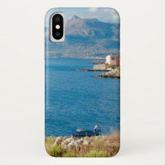 Capa Para iPhone X O pescador siciliano