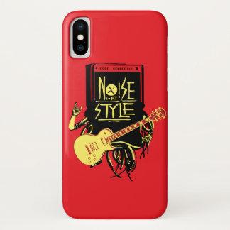 Capa Para iPhone X O ruído é meu estilo | legal