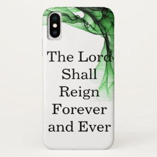 Capa Para iPhone X O senhor Dever Reino para sempre