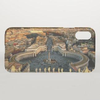 Capa Para iPhone X O vaticano quadrado de St Peter