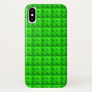 Capa Para iPhone X O verde obstrui o teste padrão