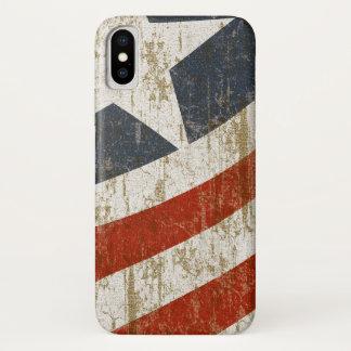 Capa Para iPhone X O vintage desvaneceu-se americano