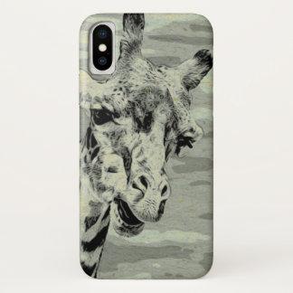 Capa Para iPhone X Observação do girafa