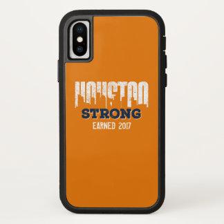 Capa Para iPhone X Olhar afligido forte de Houston