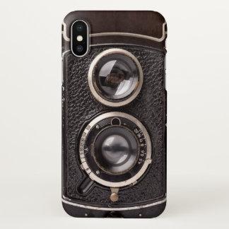Capa Para iPhone X Olhar da antiguidade da câmera do vintage