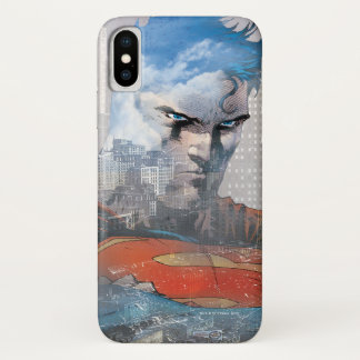 Capa Para iPhone X Olhar fixo do superman
