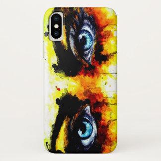 Capa Para iPhone X Olhos vivos