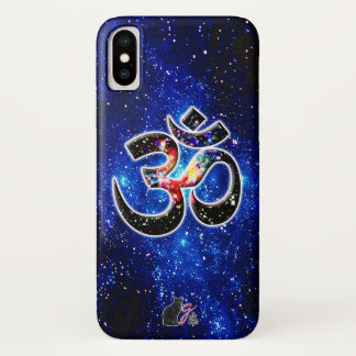 Capa Para iPhone X OM universal Dhyana