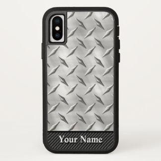 Capa Para iPhone X Opções da placa 1-7 do diamante