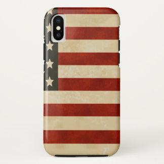 Capa Para iPhone X Orgulhoso ser americano