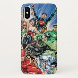 Capa Para iPhone X Os 52 novos - liga de justiça #1