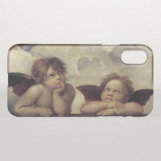 Capa Para iPhone X Os anjos de Raphael