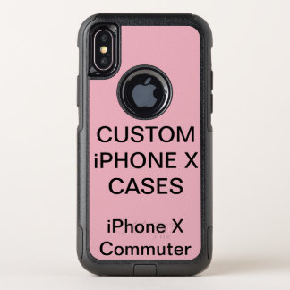 Capa Para iPhone X OtterBox Commuter O iPhone personalizado costume X de Otterbox