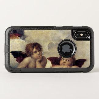 Capa Para iPhone X OtterBox Commuter Os anjos de Raphael
