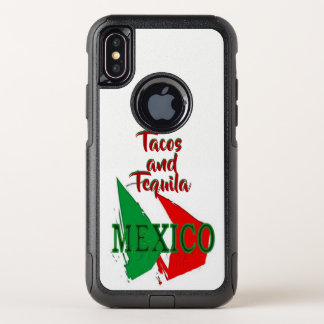 Capa Para iPhone X OtterBox Commuter Tacos e tequila