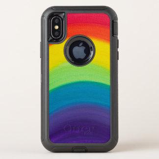 Capa Para iPhone X OtterBox Defender Arco-íris