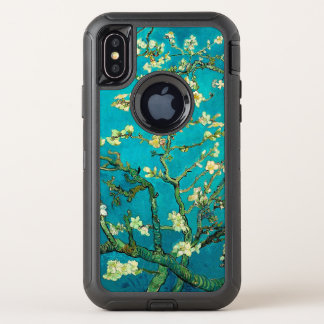 Capa Para iPhone X OtterBox Defender Árvore de amêndoa de florescência