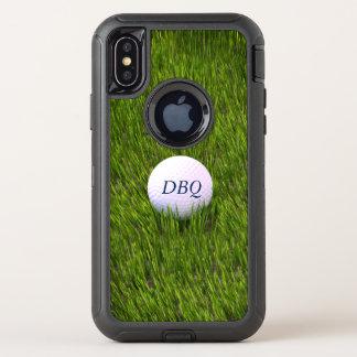 Capa Para iPhone X OtterBox Defender Bola de golfe da série do defensor de Otterbox no
