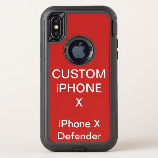 Capa Para iPhone X OtterBox Defender Caixa resistente personalizada costume do iPhone X