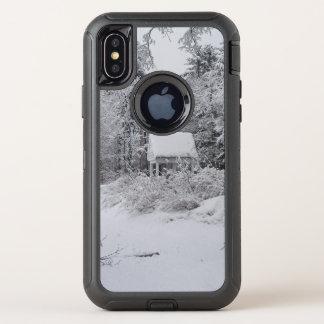 Capa Para iPhone X OtterBox Defender Casa boa no inverno por Phylli 2