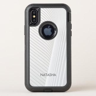 Capa Para iPhone X OtterBox Defender Forma bonita dos ricos do teste padrão do design