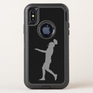 Capa Para iPhone X OtterBox Defender Jogador de futebol americano