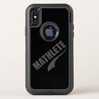 Capa Para iPhone X OtterBox Defender Mathlete