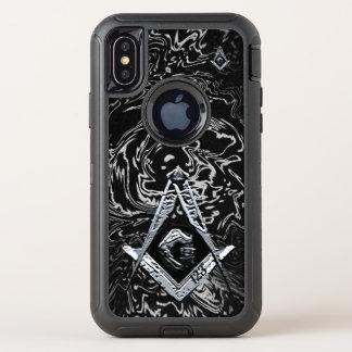 Capa Para iPhone X OtterBox Defender Mentes maçónicas (SilverySwish)