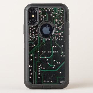 Capa Para iPhone X OtterBox Defender O conselho de circuito eletrônico